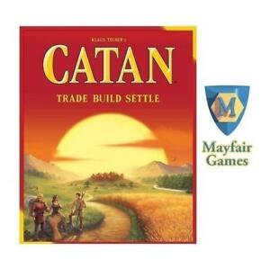 NEW SETTLERS OF CATAN BOARD GAME 212915028 TRADE BUILD SETTLE STRATEGY CLEVER TRADING TACTICAL SKILL