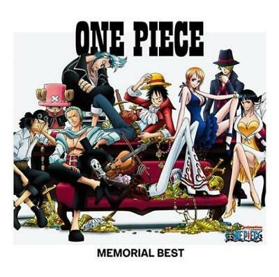 One Piece: Memorial Best Japan Import w/ Artwork MUSIC AUDIO CD Stage Screen