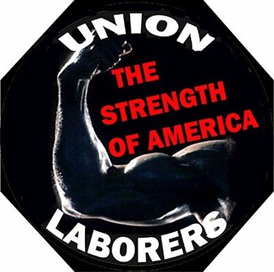 Hard Hat Stickers Hardhat Stickers Union Laborer Cl-10a
