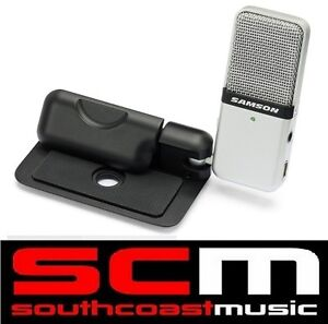 GOMIC PORTABLE SAMSON GO MIC USB CONDENSER MICROPHONE BRAND NEW IN BOX +WARRANTY