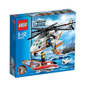 LEGO CITY 60013 + 60011 Hubschrauber + Jet Ski Küstenwache Coast Guard NEU