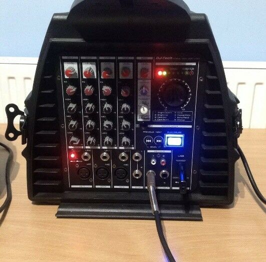 DJ-Tech stage Visa 200 light, portable PA system NEW
