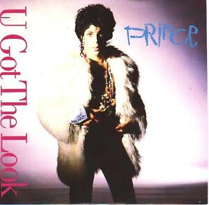 PRINCE-U-Got-The-Look-PICTURE-SLEEVE-7-45-rpm-record-juke-box-title-strip-NEW