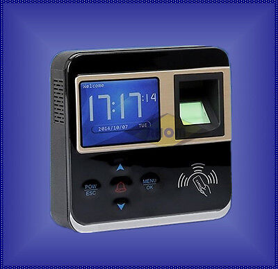 M-f211 Realand 2.4 Color Tft Fingerprint Time Attendance Access Control Tcpip