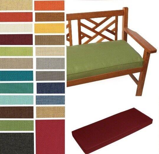SPECTRUM Custom Sunbrella Window Seat/ Bench Cushion  Box St