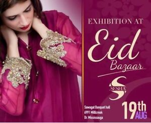 EID EXHIBITION PAKISTANI/INDIAN DESIGNER CLOTHES! MUST SEE!