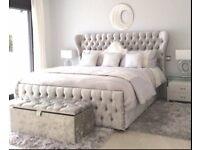 Kingsize Georgia Wing Bed