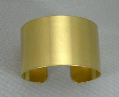"Solid Brass Bracelet Blanks, 1 1/2"" x 6"", one dozen 20 gauge brass blanks"