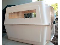 Giant dog kennel/flight crate by Petmate