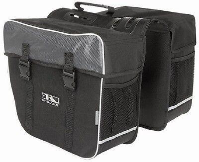 Doppel Gepäckträger Tasche Double für Fahrrad Fahrradtasche Gepäcktasche Neu!