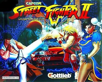 Street Fighter 2 Complete LED Lighting Kit custom SUPER BRIGHT PINBALL LED KIT
