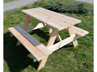 Garden Table with bench for 4 people