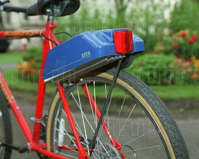Clive Sinclair Zeta Ii Prototype Electric Bike Motor In