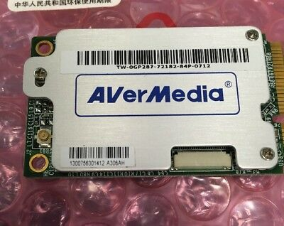 Avermedia A306AH Mini PCI-e PCIe TV FM Tuner Card DVB T Hybird with driver