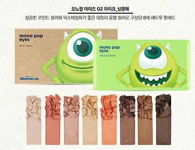 The Face Shop   X Disney Mono Pop Eyes  02 Mike Limited 9 5G  Usa Seller