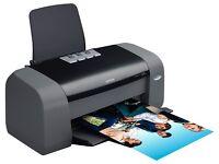 Epson D68 Colour Printer and Canon Scanner