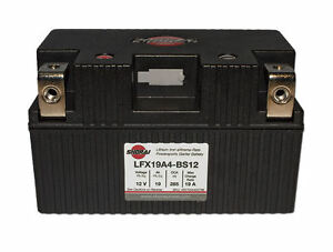 LITHIUM SHORAI BATTERY FOR MOTORCYCLES AND ATVS LFX19A4-BS12