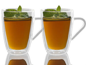 Luigi Bormioli Thermic Double Wall Glass 320ml - Set of 2 Mugs