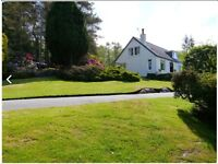 House to rent in Kippford,stunning location,large garden,furnished/unfurnished