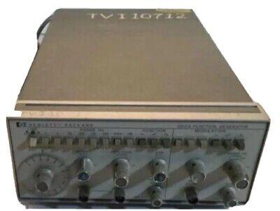 Hp Agilent 3312a Function Generator Lab Benchtop Range Modulation Deck