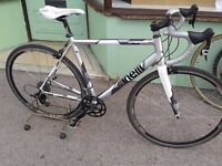 Cinelli Experince silver alloy frame and forks quality new frame and forks complete road bike