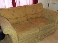 Wesley-Barrell Yellow Sofa