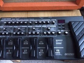 BOSS ME80 GUITAR MULTI EFFECTS PEDAL