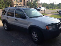 2002 Ford Escape XLT Leather SUV, Crossover