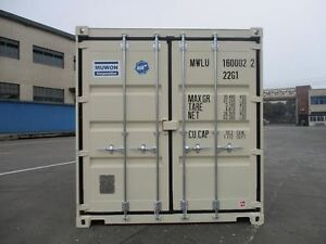 1 TRIPPER 20' STORAGE CONTAINERS / SEA CANS