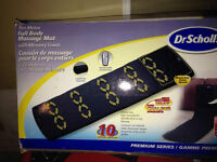 Dr. Scholls full body 10 motor massage mat