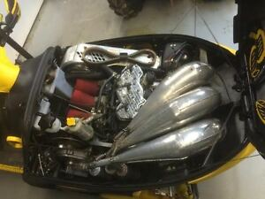 2002 Mach Z Skidoo Crankshop Pipes Windsor Region Ontario image 4
