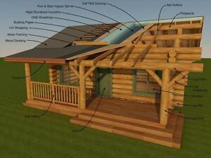 HANDCRAFTED & MILLED LOG CABINS  SK. /  LEGACY LOG HOMES INC. Regina Regina Area image 7
