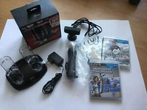 Ensemble Ps3 Move-camera-manette-chargeur-jeux-60$
