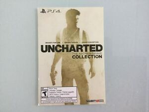UNCHARTED COLLECTION COMPLET EN CODE - 35$