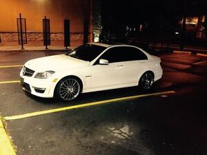 Amazing 2013 Mercedes-Benz C63 AMG Diamond White