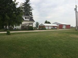 2 Acres, House, Shops and Barn