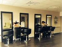 Hairdressing stations, chairs & wash basins