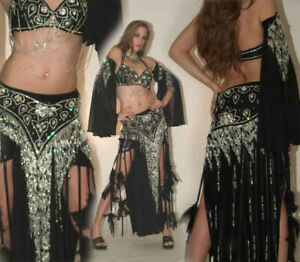 Pro Egyptian Belly Dance Costume Fits Large, Extra Large