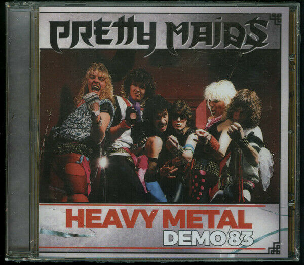 PRETTY MAIDS - Demo 83 (NEW*LIM.300*DAN HEAVY METAL DEMO