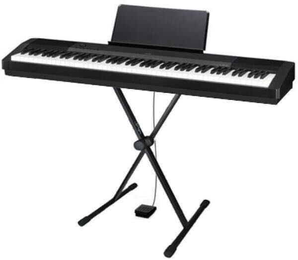 casio cdp 120 digital piano stand headphones and sustain pedal for just 150 collection only. Black Bedroom Furniture Sets. Home Design Ideas