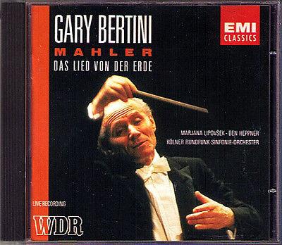 Gary BERTINI: MAHLER Das Lied von der Erde CD Ben HEPPNER Marjana LIPOVSEK ()