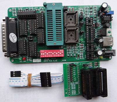 Pcb5.0e Eprom Pic Programmer Adapter Psop44 For Am29f200 Am29f400 Am29f800