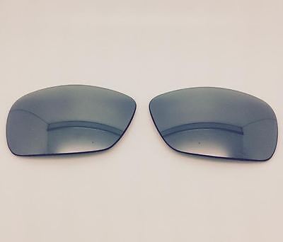 Oakley Drizzle Custom Sunglass Replacement Lenses Silver Mirror Polarized (Oakley Drizzle Replacement Lenses)