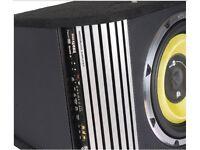 Vibe subwoofer speaker 1800W + Integrated OEM amplifier