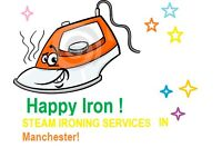 HAPPY IRON! Cheap Ironing service in Manchester.