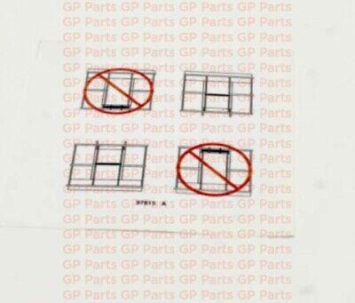Genie 97815gt Decal - Platform Gate S4045s6065s60xs60xcs60trax