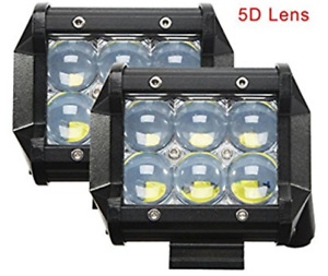 High powered Led pods with 5d lens {$120 per set}