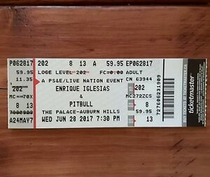 PitBull and Enrique Iglesias Concert TONIGHT - TWO Tickets