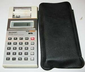 Calculatrice Sharp Electronic Printing Calculator Saint-Hyacinthe Québec image 1