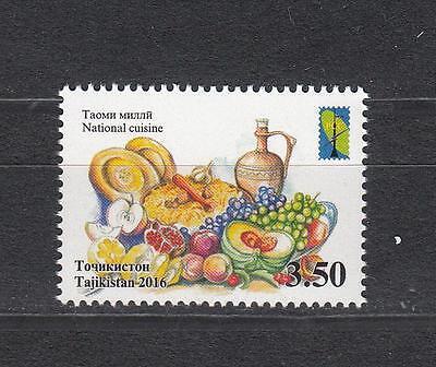 Tajikistan Tadschikistan MNH** 2016 Mi.739 RSS National Cuisine